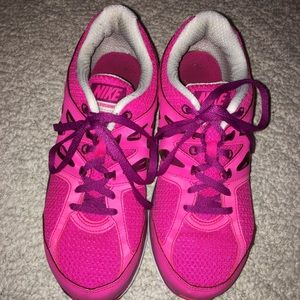 Nike Hot Pink Dual Fusion Running Shoe